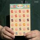 Toast - DESIGN GOMGOM Reeli face clear deco sticker 2 sheets
