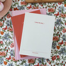 DESIGN GOMGOM Seize the day dateless weekly planner