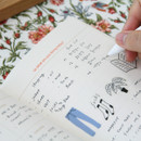 Free note - DESIGN GOMGOM Seize the day dateless weekly planner