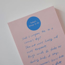 Blank - Today's things to do large memo checklist planner notepad
