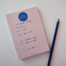 Time - Today's things to do large memo checklist planner notepad