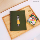 Appointment time - DESIGN GOMGOM Common days spiral bound lined notebook