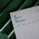 Usage example - So what are you doing dateless monthly calendar planner