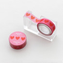 2NUL Heart decorative paper masking tape