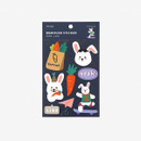 Package of Dailylike Rabbit's day removable paper deco sticker