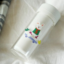 Usage example - Dailylike Rabbit's day removable paper deco sticker