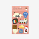 Package of Dailylike Lazy cats removable paper deco sticker