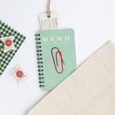 Green - ROMANE Signature spiral bound mini blank notebook