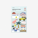 Package of Dailylike Village removable paper deco sticker