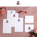 Letter - DESIGN GOMGOM My You small letter and envelope set