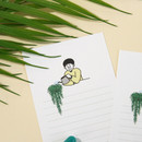 Flower pot - DESIGN GOMGOM My You small letter and envelope set