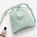 Mint - GMZ Around'D Oui Oui fabric drawstring pouch