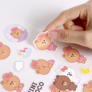Removable stickers - Monopoly Brown friends removable deco sticker