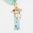 Usage example - BT21 Baby strap metal keyring