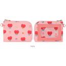 TATA - BT21 Baby pattern zipper card pocket wallet