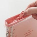Zip closure - Cherry pick zipper closure 6-ring dateless weekly planner