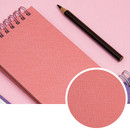 Coated cover - Ardium Color small spiral bound grid notepad