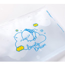 Lovely Dream - DESIGN IVY Ggo deung o clear zip lock pouch