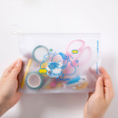 Usage example - DESIGN IVY Ggo deung o clear zip lock pouch