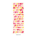 Warm pink - After The Rain Butterfly twinkle Alphabet sticker seal
