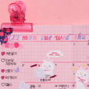 Usage example - After The Rain Butterfly twinkle Alphabet sticker seal