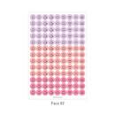 Face 02 - PAPERIAN Color palette face deco sticker set
