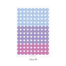 Face 03 - PAPERIAN Color palette face deco sticker set