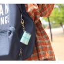 Usage example - Jam Studio Moa Moa slip in pocket mini album keyring