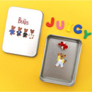 Usage example - Second Mansion Juicy bear removable sticker seal