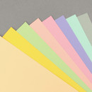 PAPERIAN Color cardstock paper 6-ring A5 size refill set