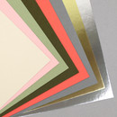 350gsm paper - PAPERIAN Color cardstock cover paper 6-ring A5 size refill set