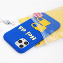 Usage example - ROMANE MonagustA simple iPhone 11 pro silicone case