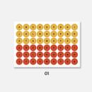 01 - GMZ The Memo A to Z my transparent deco sticker