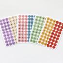 GMZ The Memo A to Z my transparent deco sticker