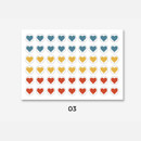 03 - GMZ The Memo Heart my transparent deco sticker