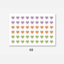 02 - GMZ The Memo Heart my transparent deco sticker