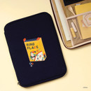 """Cereal - Tailorbird embroidered 13"""" laptop PC zip sleeve pouch ver5"""