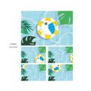 Summer vacation - DESIGN IVY Ggo deung o lenticular postcard