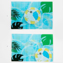 Usage example - DESIGN IVY Ggo deung o lenticular postcard