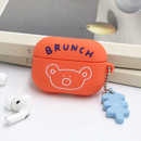 Red orange - Brunch brother Airpods pro silicone case