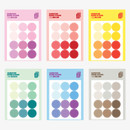 Wanna This Round 20 mm deco sticker set of 3 sheets