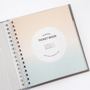 Intro - Indigo My record slip in pocket ticket book album