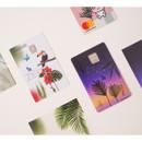 Usage example - Appree Tropical sunset nature scene sticker set