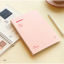 Pink - Indigo Have a nice day 6 months dateless weekly planner