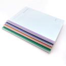 Wire bound - Indigo Prism 56 spiral bound B5 grid notebook