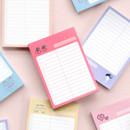 ICONIC Haru dateless daily vocabulary desk pad