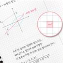 3mm grid - ICONIC Basic mathematics spiral bound grid notebook