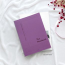 28 Deep Pink - ICONIC Basic Cornell spiral bound lined and grid notebook