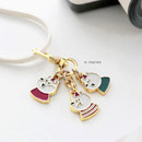 01 Together - ICONIC Merry metal keyring key clip key chain