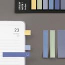 Usage example - ICONIC Index sticky memo point bookmark set